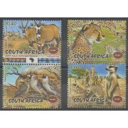 Afrique du Sud - 2001 - No 1145/1148 - Mammifères