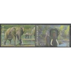 Afrique du Sud - 2003 - No 1267/1268 - Mammifères