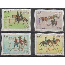 Afrique du Sud - 1993 - No 825/828 - Philatélie - Service postal