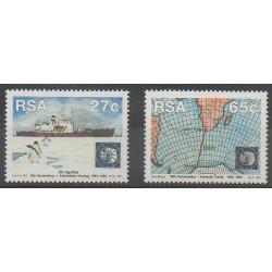 Afrique du Sud - 1991 - No 746/747 - Polaire