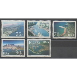 Afrique du Sud - 1993 - No 776/780 - Sites
