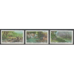 Afrique du Sud - 1992 - No 748/750 - Environnement