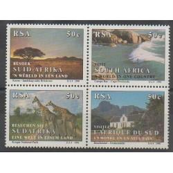 Afrique du Sud - 1990 - No 721/724 - Tourisme