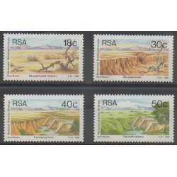 Afrique du Sud - 1989 - No 688/691 - Sites