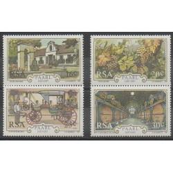 Afrique du Sud - 1987 - No 627/630 - Gastronomie - Artisanat ou métiers