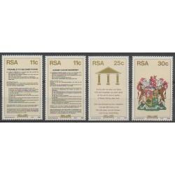 Afrique du Sud - 1984 - No 569/572 - Histoire - Armoiries