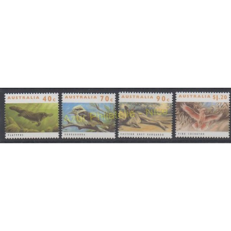 Australia - 1993 - Nb 1322/1325 - Animals