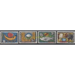 Australia - 1972 - Nb 462/465