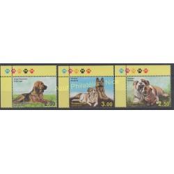 Tajikistan - 2014 - Nb 507/509 - Dogs