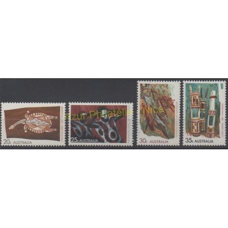 Australie - 1971 - No 443/446 - Art