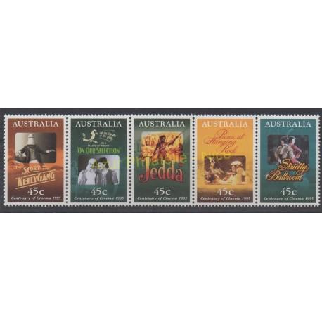 Australie - 1995 - No 1440/1444 - Cinéma