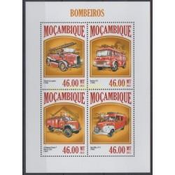 Mozambique - 2013 - Nb 5717/5720 - Firemen