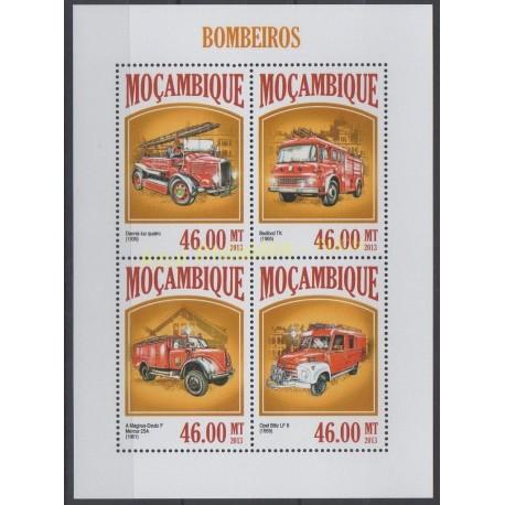Mozambique - 2013 - No 5717/5720 - Pompiers