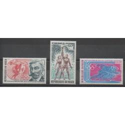 Niger - 1971 - No PA159/PA161 - Jeux Olympiques d'été