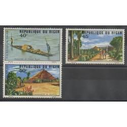 Niger - 1975 - Nb 344/346 - Tourism