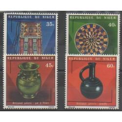 Niger - 1975 - No 323/326 - Artisanat ou métiers