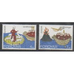 Islande - 1994 - No 753/754 - Europa