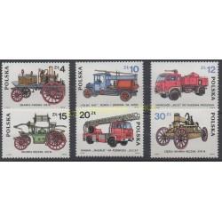 Pologne - 1985 - No 2773/2778 - Pompiers