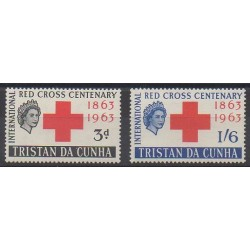 Tristan da Cunha - 1964 - Nb 69/70 - Health
