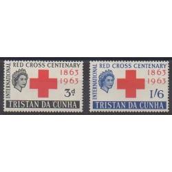 Tristan da Cunha - 1964 - No 69/70 - Santé ou Croix-Rouge