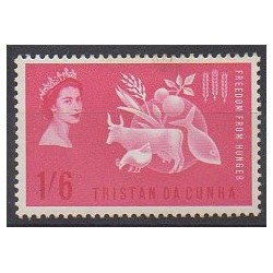 Tristan da Cunha - 1964 - Nb 68