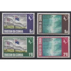 Tristan da Cunha - 1968 - No 120/123 - Histoire
