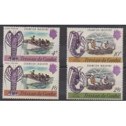 Tristan da Cunha - 1970 - No 137/140 - Artisanat ou métiers
