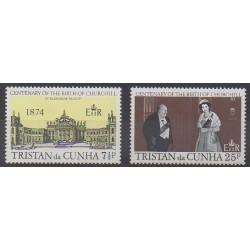 Tristan da Cunha - 1974 - No 195/196 - Célébrités