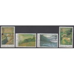 Tristan da Cunha - 1976 - No 208/211 - Peinture