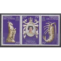 Tristan da Cunha - 1978 - No 233/235 - Royauté - Principauté