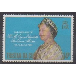 Tristan da Cunha - 1980 - Nb 276 - Royalty
