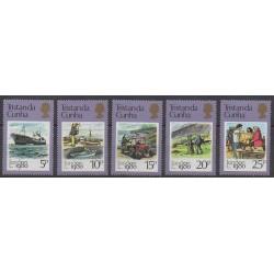 Tristan da Cunha - 1980 - No 271/275 - Service postal - Philatélie