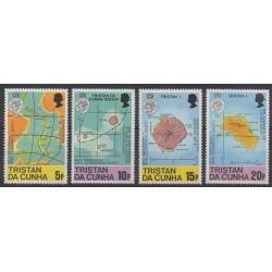 Tristan da Cunha - 1980 - No 281/284