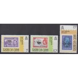 Tristan da Cunha - 1979 - No 260/262 - Timbres sur timbres