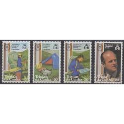 Tristan da Cunha - 1981 - No 294/297 - Royauté - Principauté