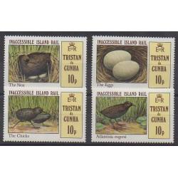 Tristan da Cunha - 1981 - No 298/301 - Oiseaux