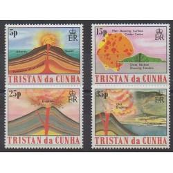 Tristan da Cunha - 1982 - No 319/322 - Sciences et Techniques