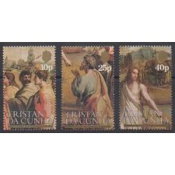 Tristan da Cunha - 1983 - Nb 343/345 - Paintings