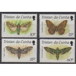 Tristan da Cunha - 1990 - No 465/468 - Insectes
