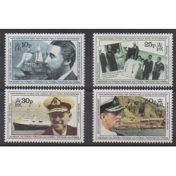 Tristan da Cunha - 1991 - Nb 487/490 - Royalty