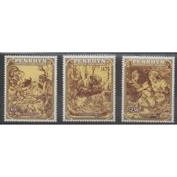 Penrhyn - 1986 - No 330/332 - Noël