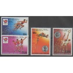 Penrhyn - 1988 - No 341/344 - Jeux Olympiques d'été