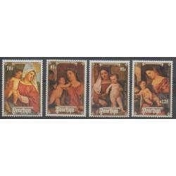 Penrhyn - 1988 - No 349/352 - Noël