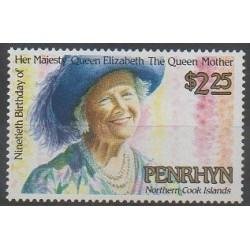 Penrhyn - 1990 - No 362 - Royauté - Principauté