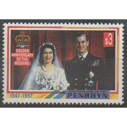 Penrhyn - 1997 - No 434 - Royauté - Principauté