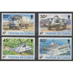 Tristan da Cunha - 1995 - Nb 556/559 - Transport - Various Historics Themes - United Nations