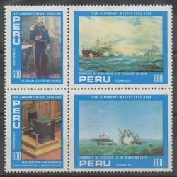 Pérou - 1984 - No 784/787 - Navigation
