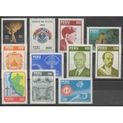 Pérou - 1985 - No 797/807