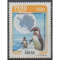 Pérou - 1985 - No 814 - Polaire - Oiseaux