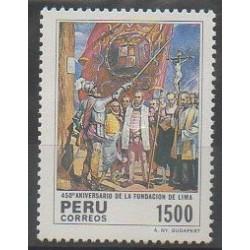 Pérou - 1985 - No 795 - Histoire